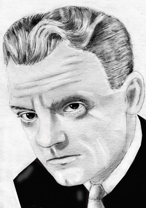 James Cagney por ultrason